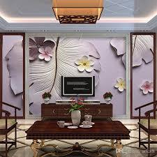 großhandel tapete blume relief bananenbaum wohnzimmer tv hintergrund wand dekoration vliestapete arkadi arkadi 26 21 auf de dhgate dhgate