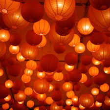 Paper Lanterns Wedding Battery Operated Paper Lantern Lights