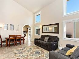 The 2 Story Tall Vaulted Ceiling In Living Room