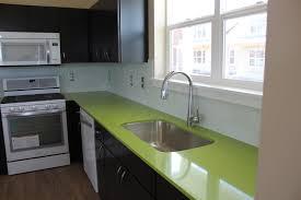 kitchen lime green quartz countertops montana tile