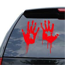Bloody Zombie Hand Print Sticker Walking Dead Halloween Red Outbreak ... Got This Truck For My Wife Funny Bumper Sticker Vinyl Decal Diesel Custom Stickers Maker Vistaprint 2018 15103cm Cute Ladybug Car Motorcycle Ideas Diesel Stickers Ebay Window Decals For Cars Harga Produk 185m I Love Boss Window Joke Malaysia Dog Paw Print Suv Aliexpresscom Buy The Shocker Jdm Newest 3d Eyes Peeking Hoods Trunk Thriller New Design 22x19cm Do Not Touch My Car Decorative Aliauto Mickey Mouse Peeping Cover Graphic Decals Amazoncom