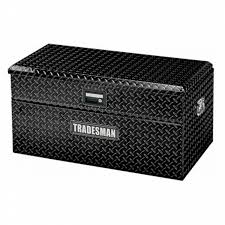 Tradesman Small Size Single Lid Flush Mount Truck Tool Box | Shop ...