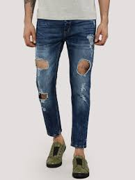 buy adamo london extreme ripped jeans in slim fit for men men u0027s