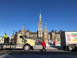100 Tidewater Trucking United We Roll Convoy Makes Noise In Ottawa Todays
