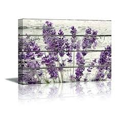 Purple Wall Art For Bedroom Shining Design Canvas Stickers Decor Metal