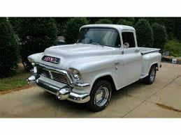 1957 GMC Truck For Sale | ClassicCars.com | CC-909186 Happy 100th To Gmc Gmcs Ctennial Truck Trend 1957 Pickup For Sale Classiccarscom Cc9975 1958 Gmc For Bgcmassorg Cc Capsule 1956 Dont Judge A By Its Grille Super Rare 12 Ton Big Back Window Factory V8 Napco 1959 Chevy Bigwindow Stepside Shortbed Ca Hotrod Shop Truck S Flickr Dans Garage 100 Show Truck Resto Mod Ncours De Elegance 9300 Cc999867