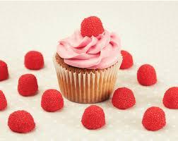 Rosa Naschtraum Himbeer Cupcakes