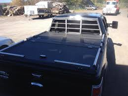 100 F 150 Truck Bed Cover With Heavy Duty Custom Headache Ra Under Loft