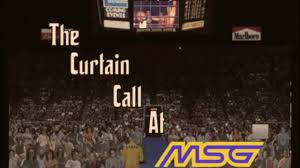 Wwe Curtain Call 1996 by Kayfabe Corner Exclusive The Curtain Call At Msg Official