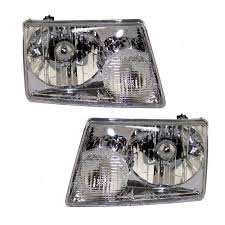 Driver And Passenger Headlights Headlamps Replacement For Ford ... 52017 F150 Anzo Led Switchback Outline Projector Headlights Mack Rd Ch Sfa Some Sba Freightliner Mt Rv Utilimaster Penske Makes Trucklite Standard For United Pacific Industries Commercial Truck Division Round Sealed Low Beam Headlamps Pair Set Chevy Pickup Land Cruiser Fj40 Fj55 Minitruck Of 2 Xenon Headlights American Truck Simulator Smoked Black 1116 Ford Super Duty Halo Gorecon Pair Cree H6054 7x6 Toyota 4piece Signal Marker Lamps Replacement Gmc Next Generation Scania With Shing Editorial Purple Volvo Fh Semi Trailer Stock Image