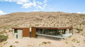 104 Mojave Desert Homes Low Lying Concrete House In The Digsdigs