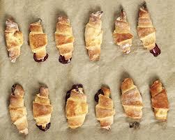 croissants pâte feuilletée au nutella