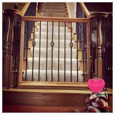 Baby Gate That Matches Your Staircase!! | Home Sweet Home ... Baby Gate For Stairs With Banister Ipirations Best Gates How To Install On Stairway Railing Banisters Without Model Staircase Ideas Bottom Of House Exterior And Interior Keep A Diy Chris Loves Julia Baby Gates For Top Of Stairs With Banisters Carkajanscom Top Latest Door Stair Design Wooden Rs Floral The Retractable Gate Regalo 2642 Or Walls Cardinal Special Child Safety Walmartcom Designs