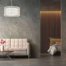 hängele für wohnzimmer schlafzimmer runder schirm moderne e27 hängeleuchte hxd 120 x 40 cm hellgrau