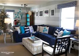 Grey White And Turquoise Living Room by A Turquoise Blue And Silver Christmas The Homes I Have Made