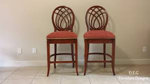 Glamorous High End Bar Chairs Off Back Design Etsy Table ...