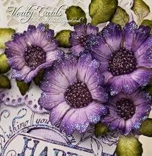 Verity Cards Flower Making Tutorial Heartfelt Creations Using Majestic Morning