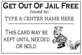 Get Out Of Jail Free Card Template Pictures