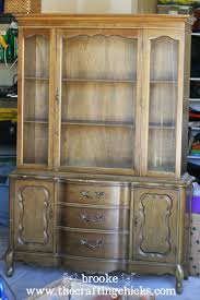 Dining Room Hutch Makeover And