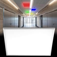 rgb led einbau panel 768 lumen warmweiß fernbedienung l 30 cm