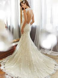 Y11554 Back Designer Wedding Dresses 2015
