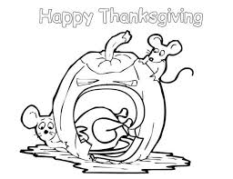 Free Happy Thanksgiving Coloring Pages Children