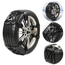 Car SUV Tire Anti-Skid Anti-Snow Chains +Shove Emergency Thickening ...