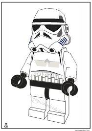 Stormtrooper Lego Coloring Pages