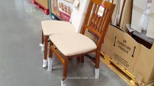 Stakmore Solid Wood Folding Chair With Padded Seat Antique ... Wood Folding Chairs With Padded Seat White Wooden Are Very Comfortable And Premium 2 Thick Vinyl Chair By National Public Seating 3200 Series Padded Folding Chairs Vintage Timber Trestle Tables Natural With Ivory Resin Shaker Ladder Back Hardwood Chair Fruitwood Contoured Hercules Wedding Ceremony Buy Seatused Chairsseat Cushions Cosco 4pack Black Walmartcom