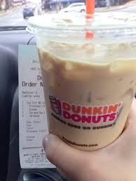 Dunkin Donuts Pumpkin Spice Latte Caffeine by Props To Mike For The Bomb Caramel Swirl French Vanilla Iced