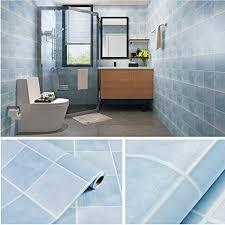 lsaiyy selbstklebende tapete küche bad mosaik wandaufkleber