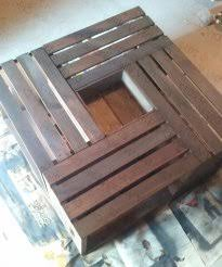 Crate Coffee Table Diy Good Looking 5 Honestly When I Put The Stain On Wood Looked Black But It Lightened