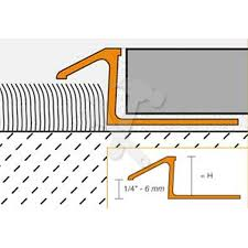 schluter reno atk carpet to tile transition doorbar milled