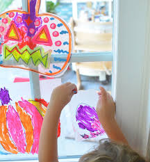 Simple Halloween Art Activity For Kids