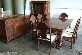 Antique Dining Room Sets Beautiful Vintage Style Set Hutch Is Similar To