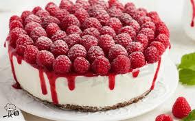 leichte low carb himbeer joghurt torte 1k rezepte