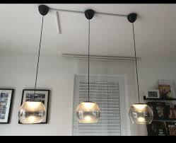 2x esszimmer philips le hängele hängeleuchte glas led grau