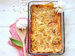 cuisine sans gluten clafoutis aux abricots et aux pêches sans gluten the