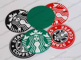 2017 NEW Table Decoration Starbucks Logo Mermaid Silicone Coaster Round Platemat Mugs Coffee Cup Mat Pad