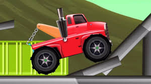 100 Towing Truck Games Tow Monster Truck Toy Truck Towing Cars For Kids Babies