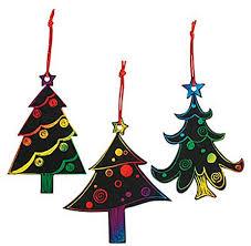 Christmas Tree Amazon Prime amazon com magic color scratch christmas tree ornaments 24 count