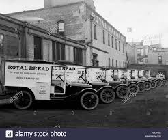 Dodge Brothers Delivery Trucks, Salt Lake City, 1920 Stock Photo ...
