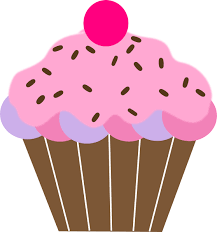 558x595 Cute Birthday Cupcake Clip Art
