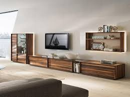 Image Of Rustic Wood Entertainment Center