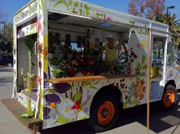 The Latest Business On Wheels To Hit LAs Westside Is Embracing This Trend Full Bloom Literally Flower Truck