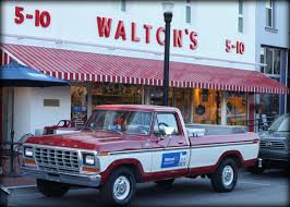 100 Sam Walton Truck S First Store On The Bentonville Square In Northwest