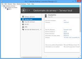 raccourci connexion bureau à distance gérer plusieurs connexions rdp avec rdc manager logiciels it connect