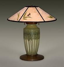Mica Lamp Shade Company by Arts And Crafts Hammered Copper Lamp With Mica Shade James D