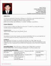 Sample Resume Hotel Housekeeping Room Attendant Format For