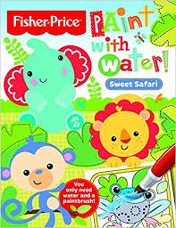 Sweet Safari Paint With Water 9781782964568 Amazon Books